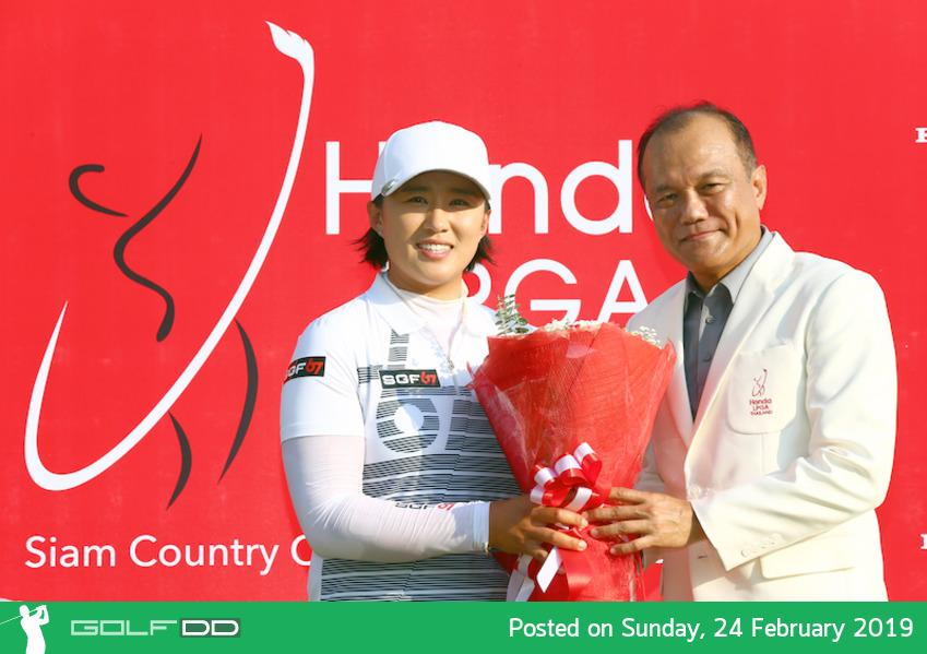 เอมี่ หยาง สร้างประวัติศาตร์คนแรกแชมป์สามสมัย ฮอนด้า แอลพีจีเอ ไทยแลนด์, โมรียาที่ 10 ร่วมดีที่สุดโปรไทย