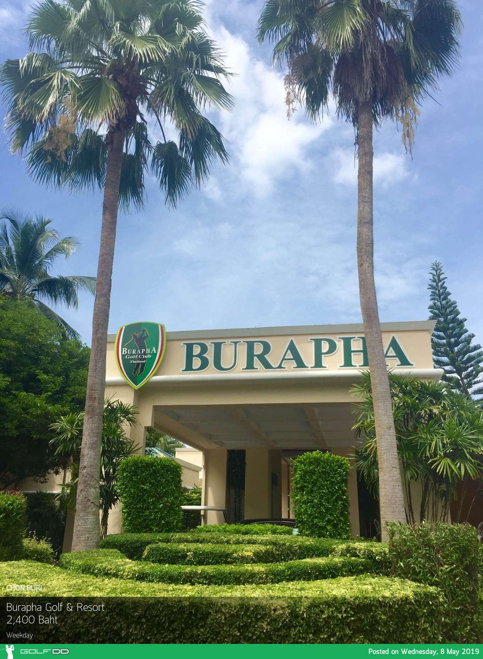 ออกรอบท้าทาย สะใจ ไม่ไกลกรุงเทพฯ ที่ Burapha Golf & Resort ชลบุรี