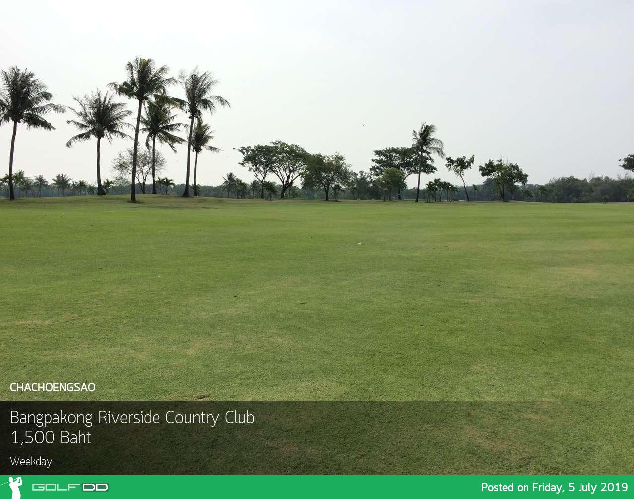 บางปะกงน้ำคงขึ้นๆ ลงๆ วัดฝีมือออกรอบกันได้ที่ Bangpakong Riverside Country Club พร้อม Booking Teetime กับ golfdd จ่ายเงินที่สนามได้เลย