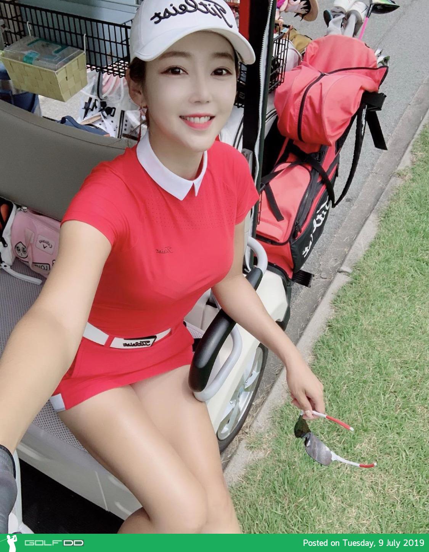 เซทรูปภาพน่ารักๆ จาก Sanghee Eunsoo สาวขาวเกาหลีใต้ - จองกอล์ฟ ที่  Golfdd