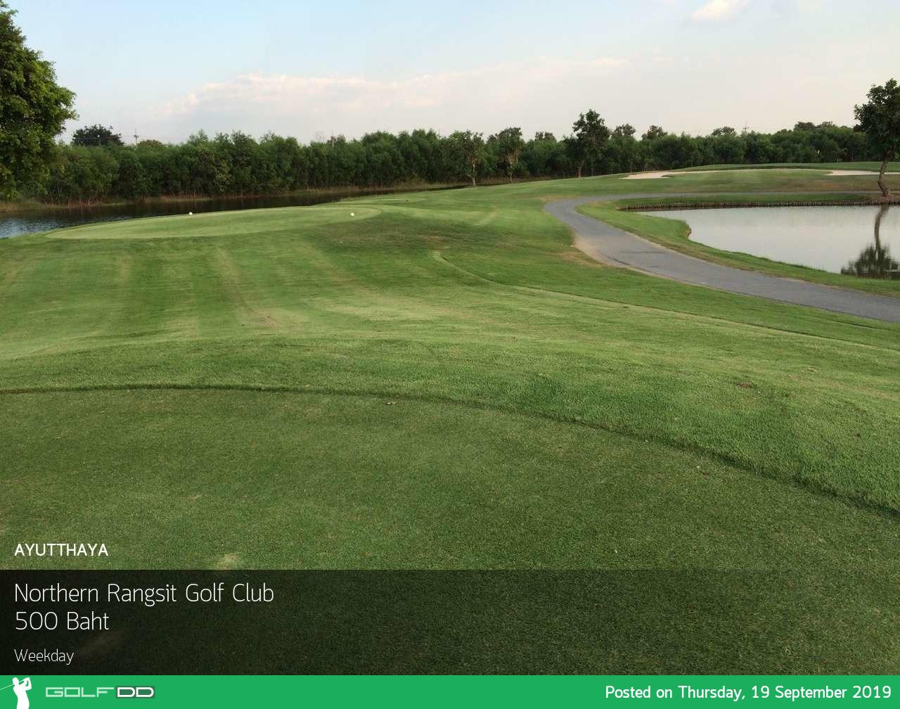 โปรถูกใจ สบายกระเป๋า ลด 50% ที่ Northern Rangsit Golf Club พร้อมจองผ่าน golfdd จ่ายเงินที่สนามได้เลย