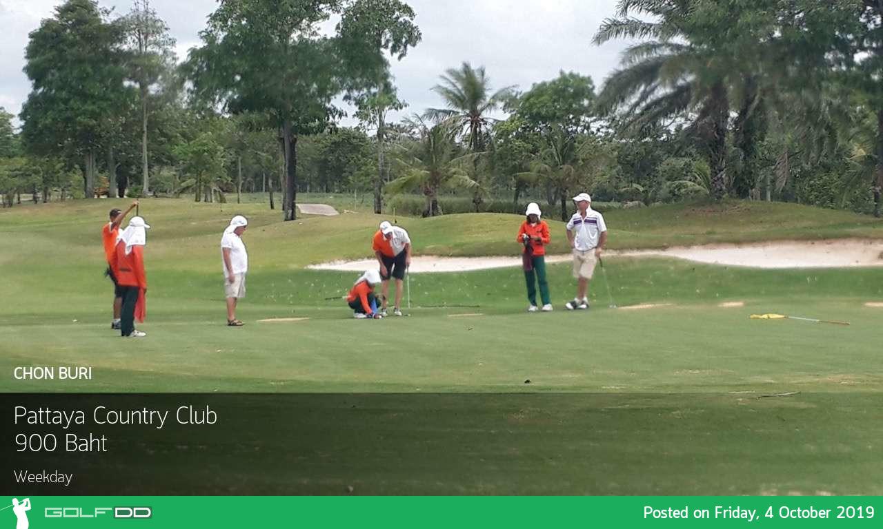 วันศุกร์ ลดจุใจ 55% ที่ Pattaya Country Club ชลบุรี พร้อมจองผ่าน golfdd จ่ายเงินที่สนามได้เลย