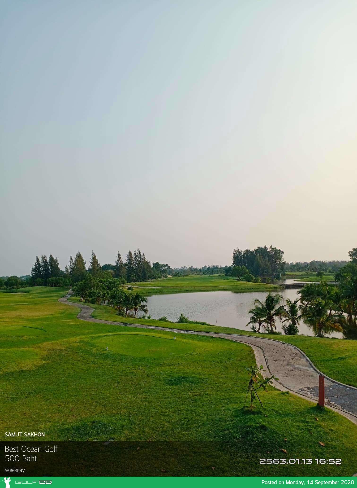 สนามกอล์ฟ  Best Ocean Golf   สนามดีสนามสวยไม่ไกลจากกรุงเทพอยู่ที่สมุทรสาครนี้เองอัพเดทราคาล่าสุด