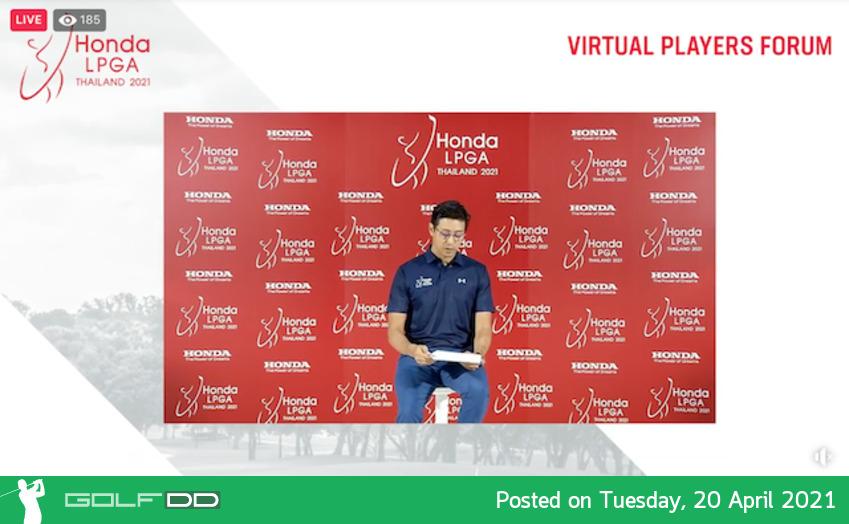"""เชิญชมงานเปิดตัว """"ฮอนด้า แอลพีจีเอ ไทยแลนด์ 2021 Virtual Players Forum"""" เริ่มขึ้นแล้ว"""