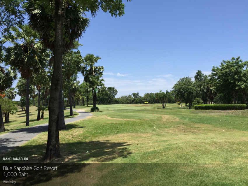 วันศุกร์แล้ว เที่ยวได้ ไปออกรอบที่ Blue Sapphire Golf Resort กาญจนบุรี พร้อมจอง Reservation