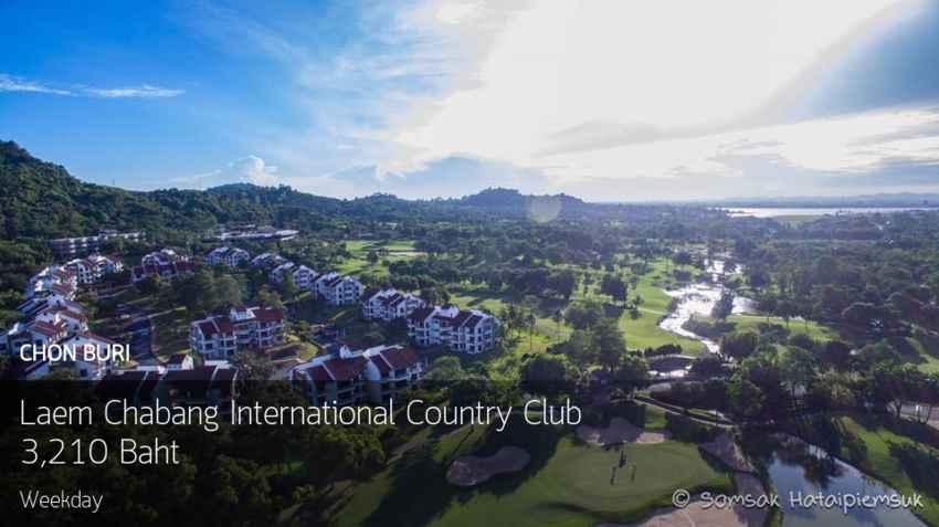 แวะออกรอบ ก่อนออกเที่ยวที่ Laem Chabang International Country Club ชลบุรี Booking Teetime กับ golfdd จ่ายเงินที่สนามได้เลย