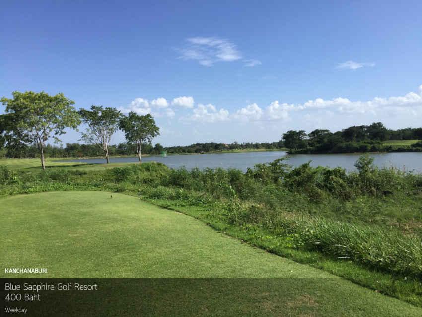 สุดๆ ไปเลย ออกรอบกรีนฟี 400 บาท ไปที่ Blue Sapphire Golf Resort กาญจนบุรี พร้อม Booking Teetime กับ golfdd จ่ายเงินที่สนามได้เลย