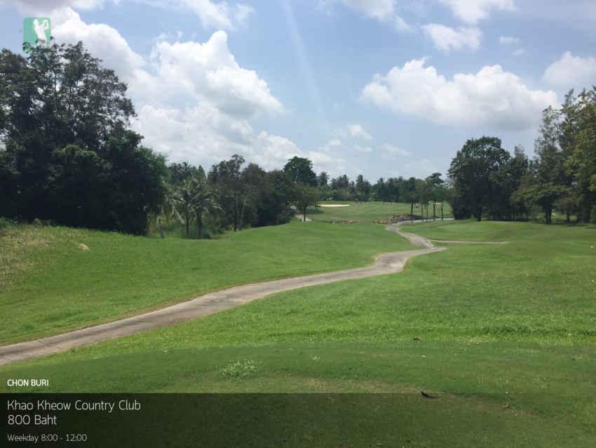 ออกรอบวิวสวย กรีนฟีลดกระหน่ำ ที่ Khao Kheow Country Club ชลบุรี Booking Teetime กับ golfdd จ่ายเงินที่สนามได้เลย