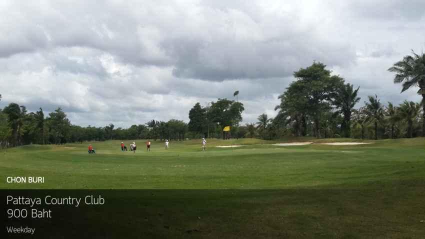 โปรถูกใจ จัดไปงามๆ ลด 55% ออกรอบแค่ 900 บาท ที่ Pattaya Country Club จองผ่าน Golfdd จ่ายหน้าสนามได้เลย