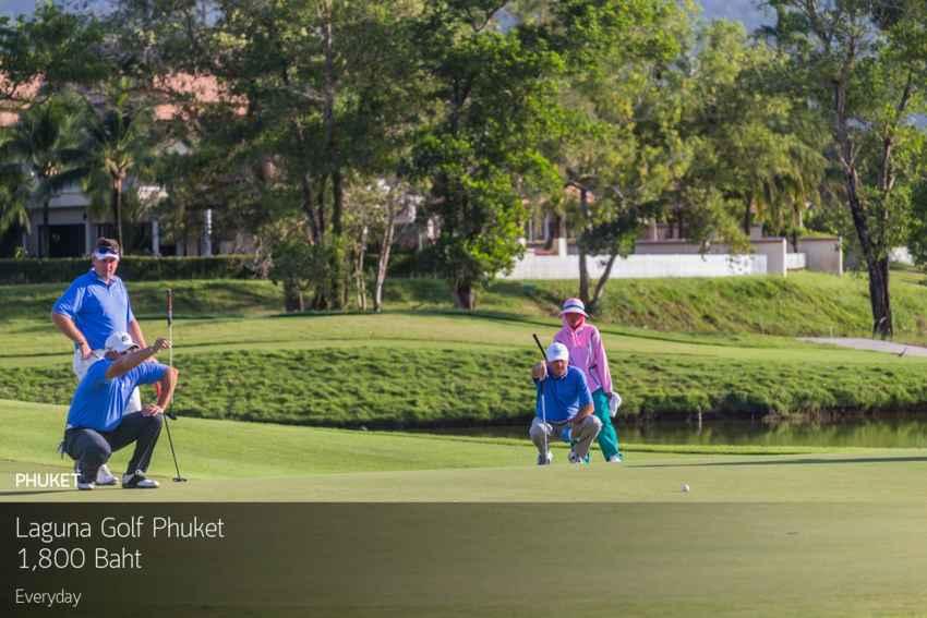 โปรดี โปรเด็ด บินลงใต้ ลด 65% ที่ Laguna Golf Phuket พร้อมจองผ่าน golfdd จ่ายเงินที่สนามได้เลย