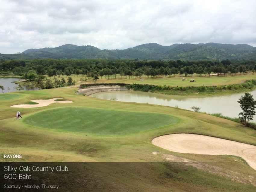 โปรดี อากาศดี ลดไปที่ 74% ที่ Silky Oak Country Club ระยอง พร้อมจองผ่าน golfdd จ่ายเงินที่สนามได้เลย