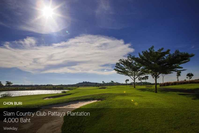 โอกาสดีวันหยุด ออกรอบสนามระดับ LPGA ที่ Siam Country Club Pattaya Plantation เชิญ Booking Teetime กับ golfdd จ่ายเงินที่สนามได้เลย