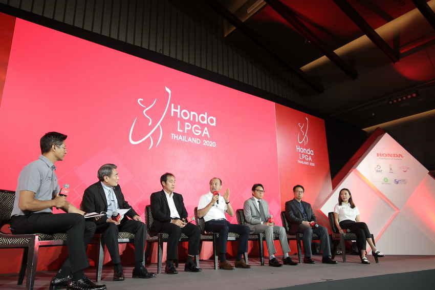 """ฮอนด้า ประกาศความพร้อม สานต่อการดวลวงสวิงนักกอล์ฟหญิงระดับโลก ในรายการ """"ฮอนด้า แอลพีจีเอ ไทยแลนด์ 2020"""" พร้อมผลักดันนักกอล์ฟไทยสู่การแข่งขันระดับนานาชาติ"""