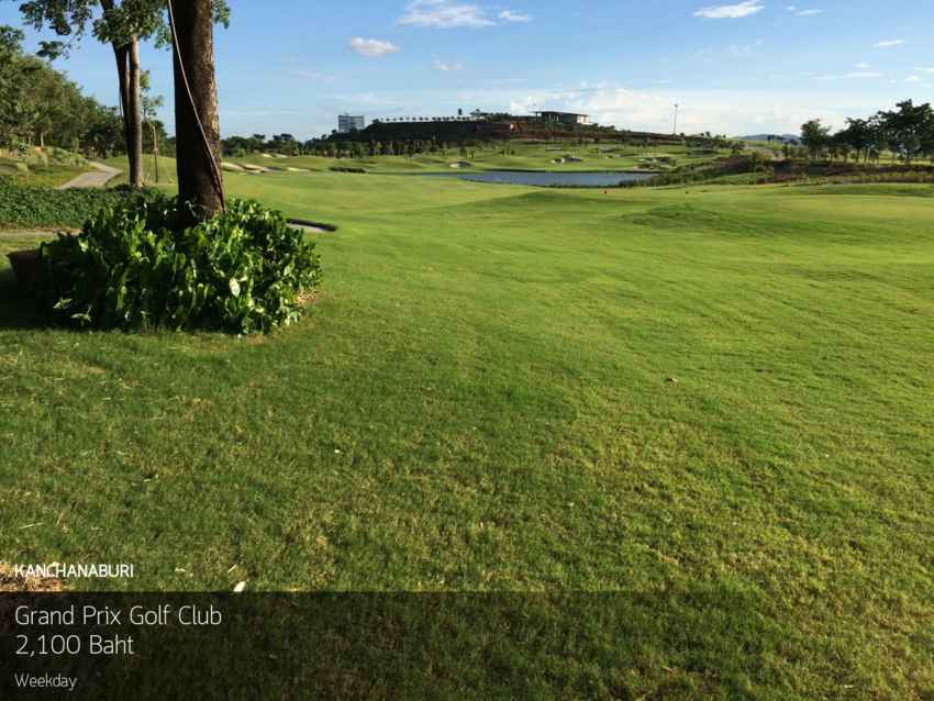 เยือนถิ่นเมืองกาญฯ ทัวร์อาณาจักรกอล์ฟ Grand Prix Golf Club