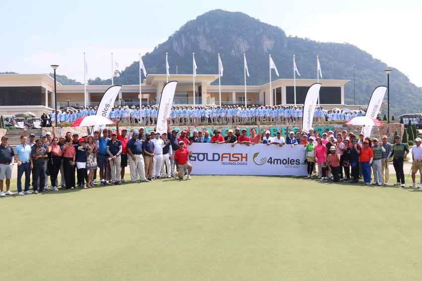 4moles Golf Getaway Thailand 2019 งานกอล์ฟดวลวงสวิงระดับบริหารที่หรูหราและยิ่งใหญ่ที่สุดในเอเชีย