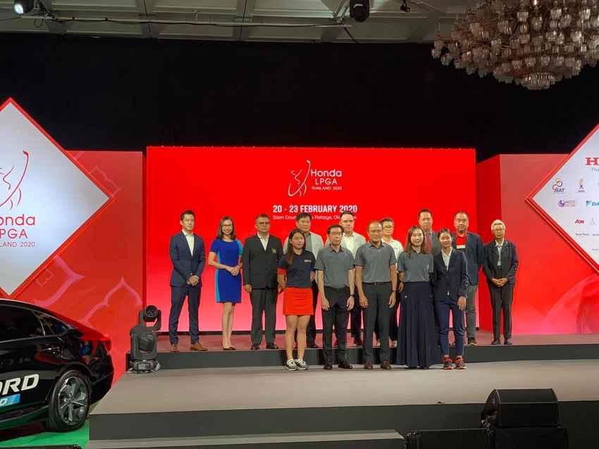 """โปรกอล์ฟหญิงระดับโลก 70 คน พร้อมดวลวงสวิง ชิงความเป็นหนึ่งใน """"ฮอนด้า แอลพีจีเอ ไทยแลนด์ 2020"""""""