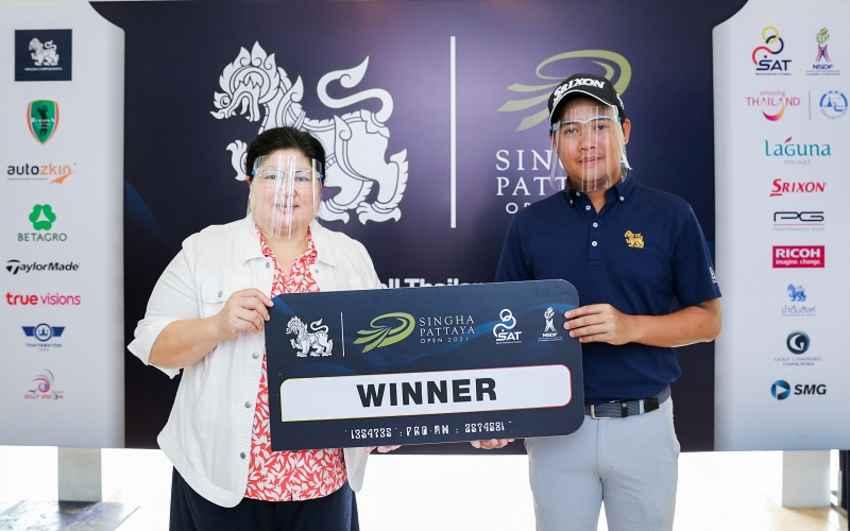 ทีม Burapha Golf & Resort คว้าแชมป์โปรแอม รายการ สิงห์ พัทยา โอเพน 2021