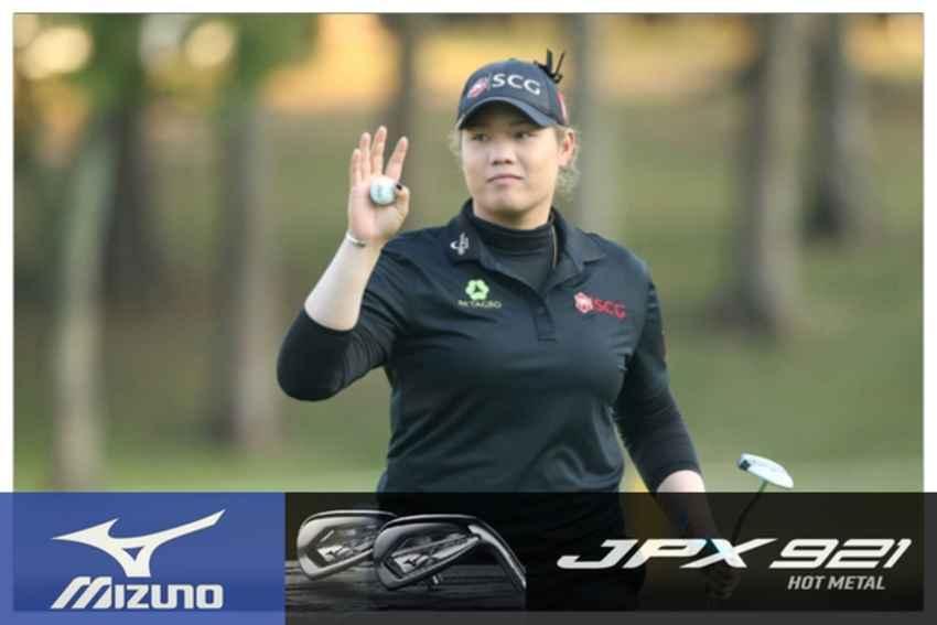 """โปรเม"""" เอรียา จุฑานุกาล  จบที่ 12 ร่วม สกอร์รวม 13 อันเดอร์ กอล์ฟแอลพีจีเอทัวร์ BWM Ladies Championship ที่เมืองปูซาน"""